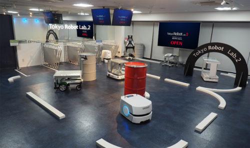 オリックス・レンテックの「Tokyo Robot Lab.」