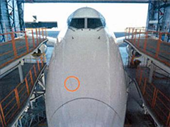 20180518nca1 - NCA/定期整備で判断に甘さ、航行中に受けた損傷が航空事故に認定