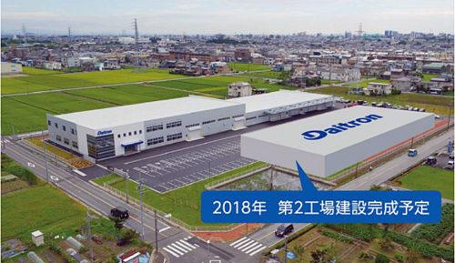 20180521daitron 500x289 - ダイトロン/8億円投じ、愛知県一宮市にディスプレイ等の製造装置工場建設