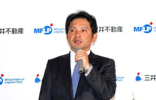 三木孝行ロジスティクス本部長