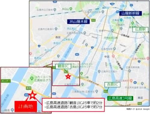 20180521mflphiroshima2 500x380 - 三井不動産/東京・横浜等に物流施設、4棟開発