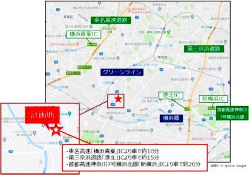 20180521mflpyokohama2 500x353 - 三井不動産/東京・横浜等に物流施設、4棟開発