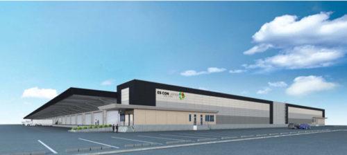 20180523escon 500x224 - 日本エスコン/兵庫県加東市で4万m2の物流施設開発