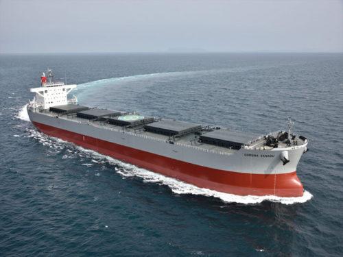 20180523kawasaki2 500x375 - 川崎汽船/コロナシリーズ石炭専用船を竣工