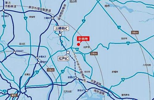 20180525cpd2 500x326 - CPD、三菱UFJリース、東急不動産/松戸市に1.6万m2の物流施設着工