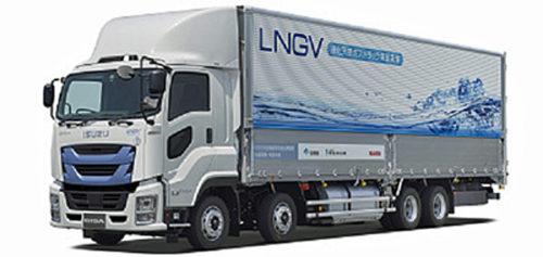 大型LNGトラック