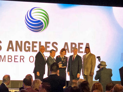 20180525konoike2 500x375 - 鴻池運輸/南カリフォルニア地区の発展への永年の貢献で表彰