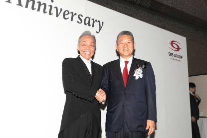 谷村新司さんと鎌田社長
