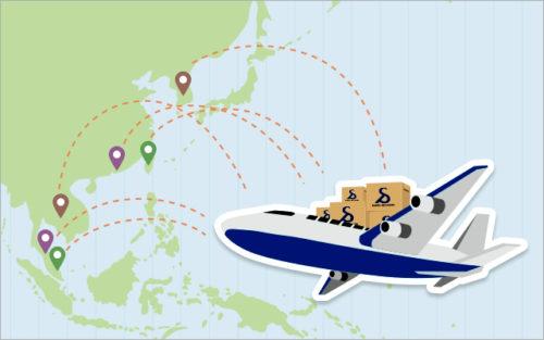 安価な航空輸送サービス「ECMS EXPRESS」、アジアに拡大