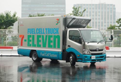 20180606seven7 500x340 - トヨタ/セブン-イレブンの配送用燃料電池トラックを公開