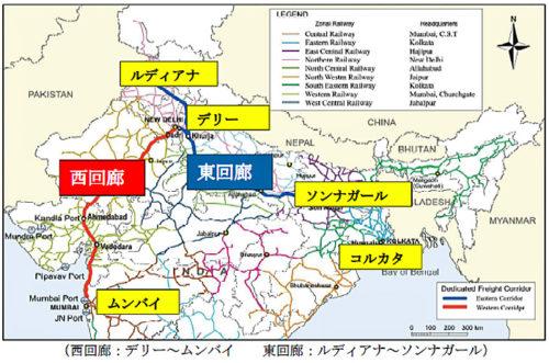DFC路線図