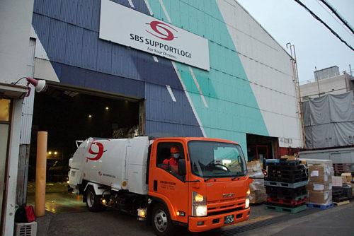 20180612sbs4 500x334 - SBS即配サポート/東雲事業所で、蛍光灯の廃棄処理開始