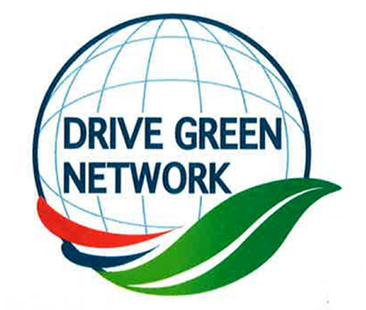 環境マネジメント推進体制「DRIVE GREEN NETWOK」のロゴ