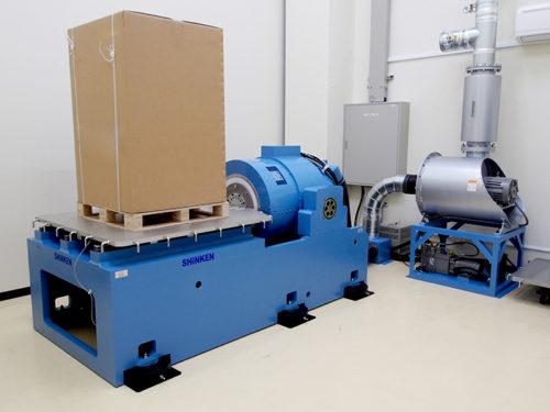 新規導入の大型振動試験機