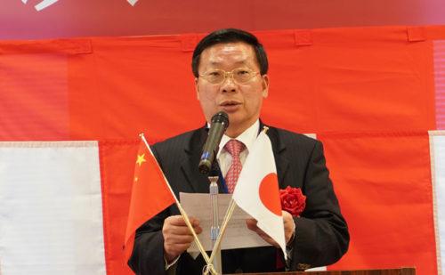 シノトランスジャパンの蒋紅寿社長