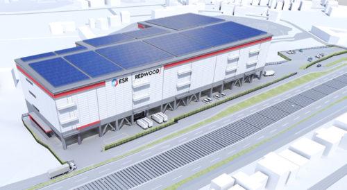 20180622esr2 500x274 - ESR/投資額58億円、名古屋市に3.74万m2の物流施設開発