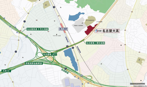 20180622esr3 500x297 - ESR/投資額58億円、名古屋市に3.74万m2の物流施設開発