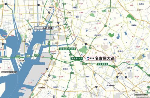20180622esr5 500x329 - ESR/投資額58億円、名古屋市に3.74万m2の物流施設開発