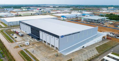 ミャンマーに完成した大型物流倉庫「RYOBI MYANMAR Distribution Center」