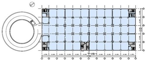 募集区画:7階の平面図
