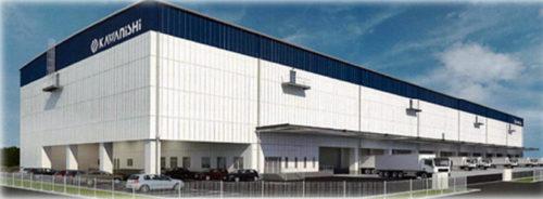 20180703kawanishi 500x184 - 川西倉庫/埼玉県杉戸町に約1.5万m2の物流施設建設