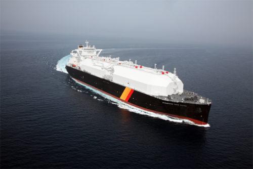 20180709nyk 500x334 - 日本郵船/三菱商事向けの新造LNG船を命名