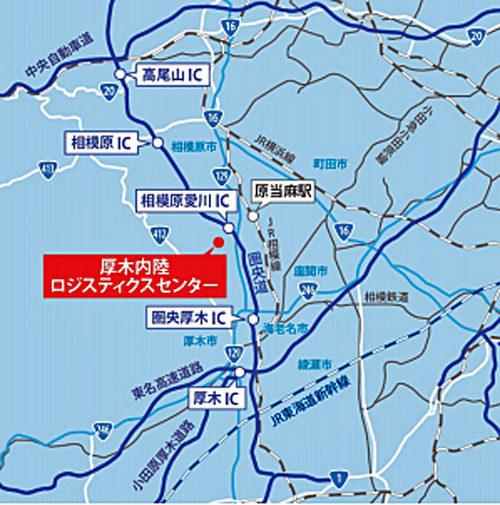 20180710centerpoint6 500x505 - センターポイント/神奈川県厚木市に5.5万m2の物流施設竣工