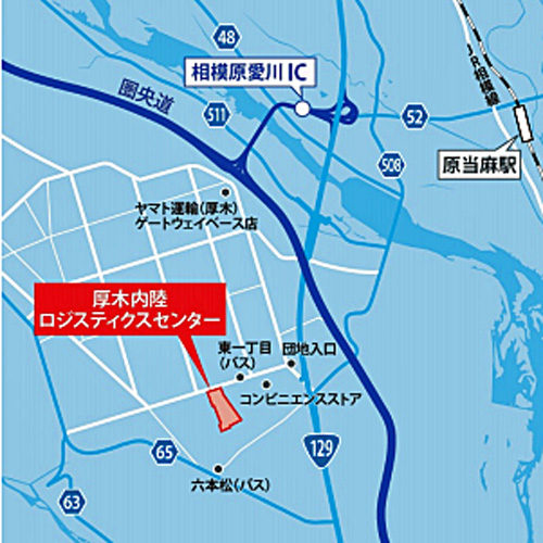 20180710centerpoint7 500x500 - センターポイント/神奈川県厚木市に5.5万m2の物流施設竣工