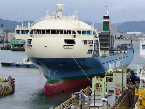 国内最大級内航コンテナ船