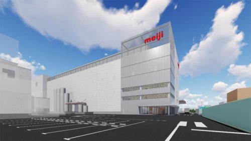 埼玉工場新製造棟完工後のイメージ