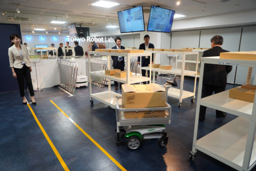 Tokyo Robot Lab.2でのロボット見学会