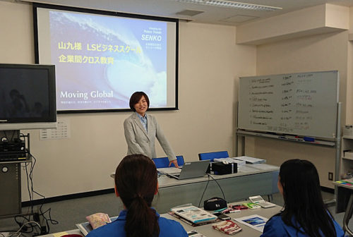 20180712sankyu 500x336 - 山九/ヤマト運輸、センコー、鈴与から講師招き、新入社員教育