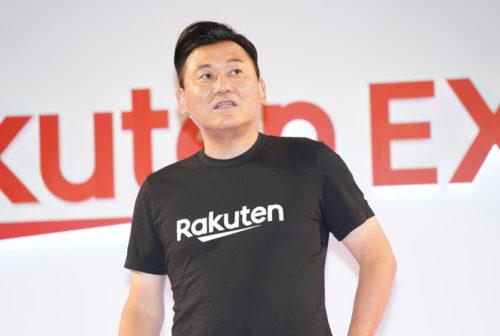 Rakuten EXPO2018で物流拠点について語る三木谷会長兼社長