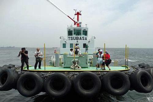 タグボートの体験乗船会