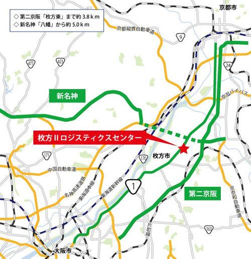 20180731orix2 500x516 - オリックス/大阪府枚方市に5.7万m2のマルチテナント型物流施設を開発