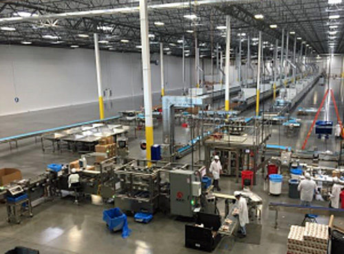 20180803kameda2 500x369 - 亀田製菓/米国の子会社工場、新工場に移転
