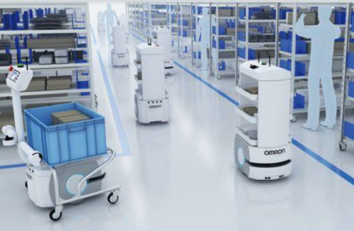 物流ロボット体験会