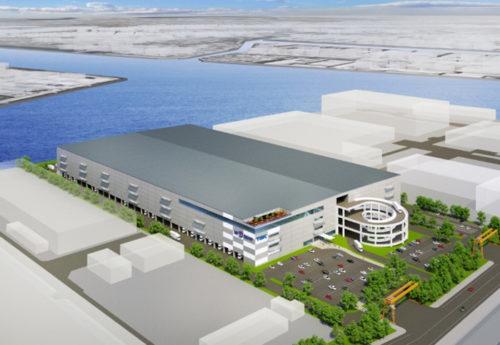 (仮称)市川塩浜物流施設開発計画のイメージ