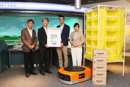20180807amazon1 500x334 - アマゾン/物流博物館にAmazon Robotics、物流施設の仕組みを常設展示