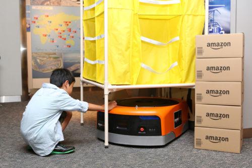 20180807amazon2 500x334 - アマゾン/物流博物館にAmazon Robotics、物流施設の仕組みを常設展示