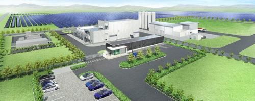福島水素エネルギー研究フィールド完成イメージ