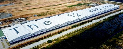 PKTの最新鋭の倉庫施設、12 Waves Warehouse