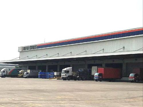 NEX ロジスティクスインドネシア 倉庫