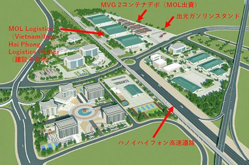 建設予定地周辺図