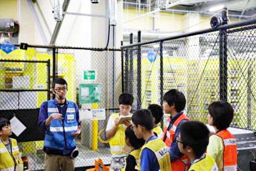 20180904amazon2 500x334 - アマゾン/川崎FCに小・中・高校生招き、特別授業など体験