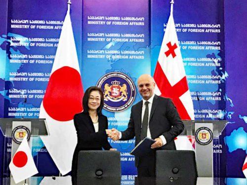 20180904jica2 500x375 - JICA/ジョージア政府と円借款貸付、黒海とカスピ海結ぶ国際物流網構築