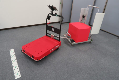 CarriRoとRFIDを組み合わせた無人棚卸ソリューションイメージ