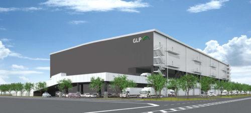 (仮称)「GLPツインシティプロジェクト(厚木III)」パース