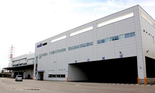 東京LSセンター川崎サテライト新建屋の外観