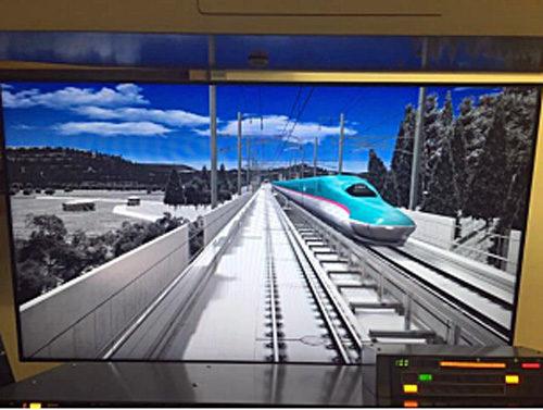 新幹線との共用走行区間の画像